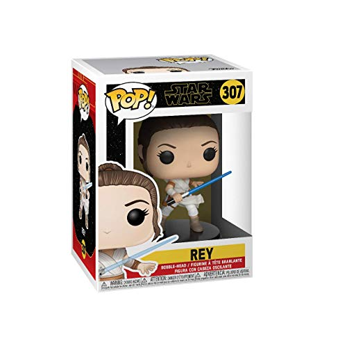 Funko-  Pop Star Wars The Rise of Skywalker- Rey Disney Figura Coleccionable,  Multicolor (39882)