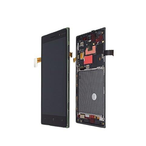 LCD Display Nokia Lumia 830 full set Original Dark Grey - A-Cover + Display + Touch Panel + Display