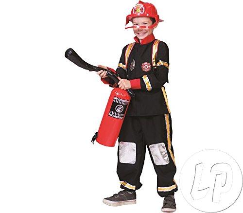Pierro´s Kostüm Feuerwehrmann Max Kind Größe - Funny Kostüm Feuerwehrmann
