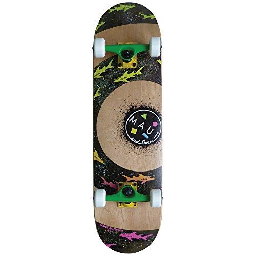 Maui and Sons, Skateboard Sharknado, Beige (Natural), Standard
