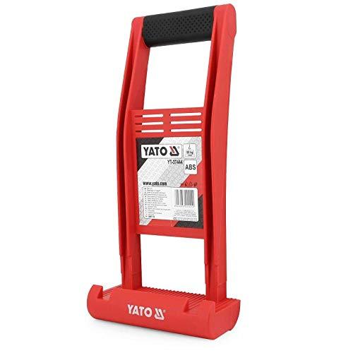 YATO® Plattenheber Träger Plattenträger Halter Plattenhalter Leicht Tragehelfer 80 kg Typ YT-37444