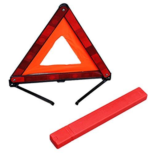 1/paire LED Rouge durgence routi/ère clignotant Flares S/écurit/é stroboscope Route Avertisseur lumineux support amovible batterie non inclus