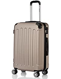 2045 Reisekoffer Koffer Trolley Hartschale XL-L-M in 12 Farben