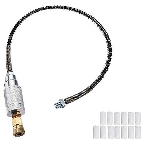 TOOGOO Set 40 Mpa 0,5 M Hoch Druck Pcp Luft Filter Kompressor ?L Wasser Abscheider Schlauch Filter Kern 8 Mm M8 Weiblich Faden - Kern-filter