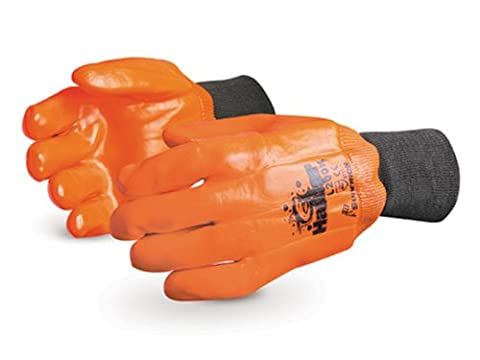 Superior L200B PVC Winter Lined Fully Coated Glove with Safety