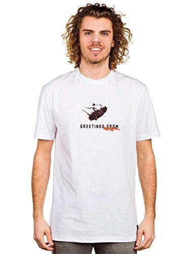 Herren T-Shirt ZOO YORK Greetings T-Shirt White
