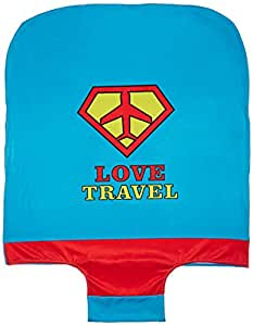 Housse de valise Love travel Bleue Grand modèle La chaise longue 33-1V-002G
