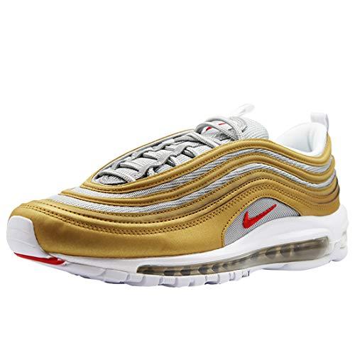 meet 46219 b90e9 Nike Air Max 97 Gold - Scarpe da Ginnastica da Uomo, Oro (Metallic Gold