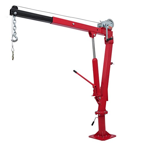 Folding Engine Hoist (festnight zusammenklappbar Engine Hoist Lift Truck Pick-Up Kran mit Kabel und Seilwinde)