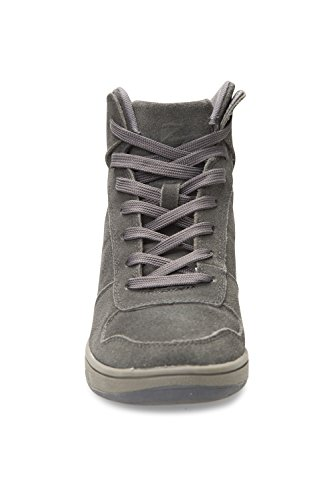 Mountain Warehouse Urban Outing Wedge Trainers Peat verde