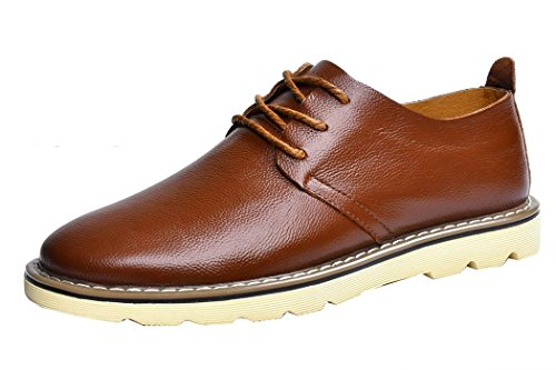 imayson-mens-business-leather-shoes-low-top-flats-casual-lace-up-oxford-uk-7-color-brown