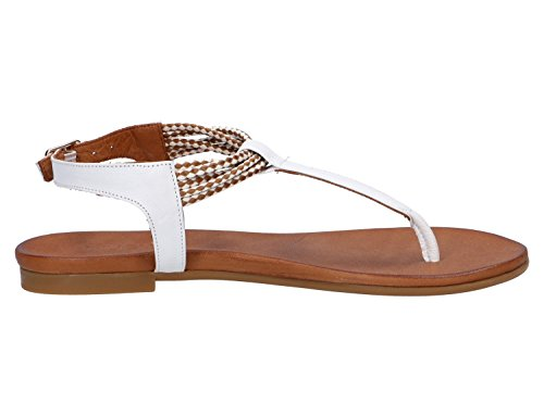 Inuovo 7321-white, Sandales Pour Femmes Blanches