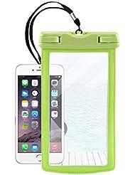 KUN PENG SHOP Sac à eau imperméable à l'eau pour téléphone cellulaire en PVC Ensembles de téléphone imperméable à la plongée pour iphone6 / Samsung / millet A+