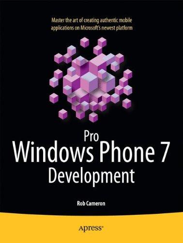 Preisvergleich Produktbild Pro Windows Phone 7 Development