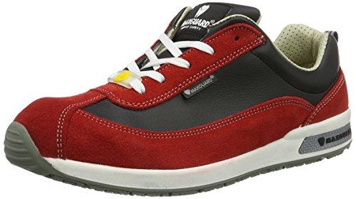 Maxguard Demy D374, Chaussures de Sécurité Mixte Adulte Rot (Rot)