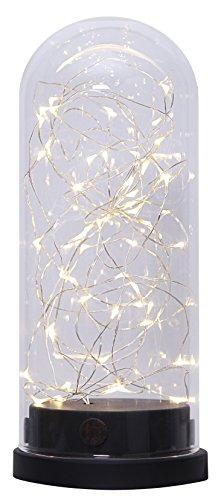 STAR, decorazione da giardino con LED in vetro