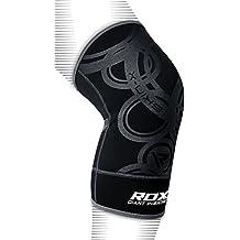 RDX MMA Tutor Rodilla Support Boxeo Banda Rodilleras Deporte Fitness-Crossfit (Protección Individual Artículo) Talla:Small/ Medium