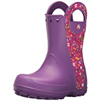 Crocs Unisex Kids Handle It Graphic Boots
