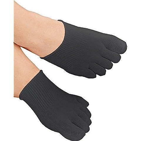 Medipaq® terapeutico elastico Gel Toe Socks–Eliminare dolore pressione e (Bunion Bandage)