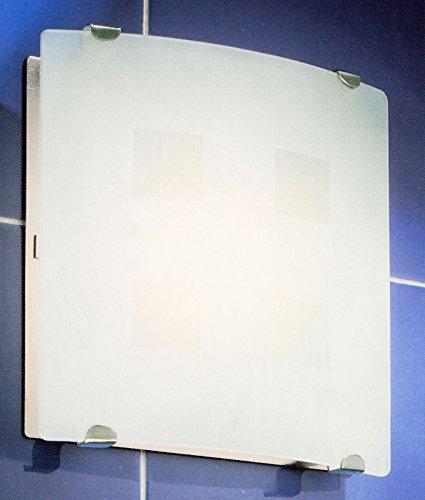 Ventilator 100 N Glasabdeckung mit Licht (Bad-leuchte Mit Ventilator)