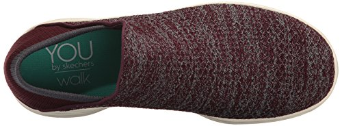 Skechers Damen You Sneaker Rot (Burgundy)