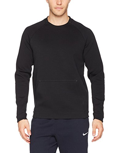 Nike Herren Tech Fleece Crew Sweatshirt Black