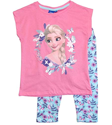 igin Set Tunika und Leggings Disney (Blau-Rosa, 98-104) ()