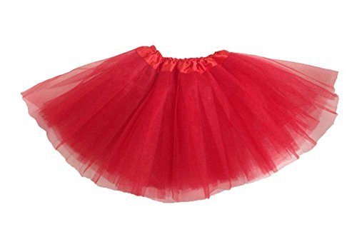 Girls Ballet Tutu Red by Coxlures