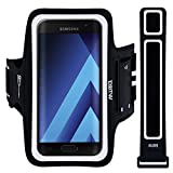 EOTW Sportarmband Handyhülle Kompatibel mit Samsung Galaxy A3 2017, Huawei Ascend P2, Microsoft Lumia 550, Handyhalterung Arm für Joggen Laufen 4,7 Zoll Schwarz