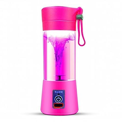 Juicer Electric Saft Cup Aufladung Juicy Cup Portable Mini Haushalt,Rosa (Juicy Thong)