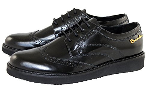 Braccialini Women's Classic Lace-Up Half Shoe black Size: 6 UK