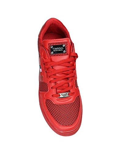 Tamboga - Sneakers fashion rouge Tamboga 3027 Rouge Rouge