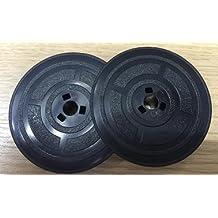 Olivetti Studio 42444546Lexicon 80bobinas de máquina de escribir 2cintas de tinta, color negro