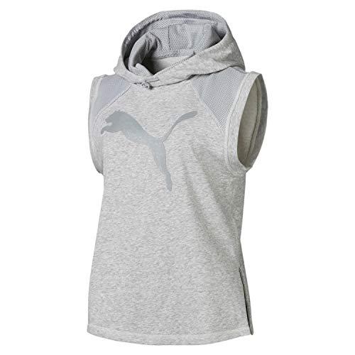 Puma Damen Yogini Vest Pullover Light Gray Heather, XL