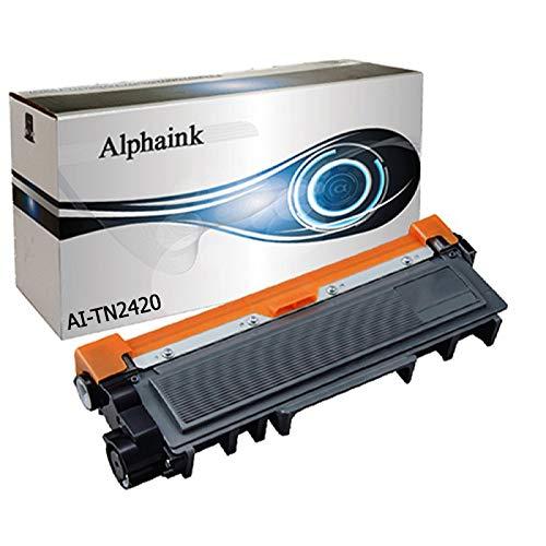 Alphaink AI-PFTN2420 CON CHIP compatibile per Brother HL-L2310D HL-L2350DW MFC-L2710DN MFC-L2710DW MFC-L2750DW DCP-L2510D, Resa 3000 copie al 5% di copertura