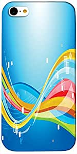 Timpax protective Armor Hard Bumper Back Case Cover. Multicolor printed on 3 Dimensional case with latest & finest graphic design art. Compatible with only Apple iPhone - 5C. Design No :TDZ-20332