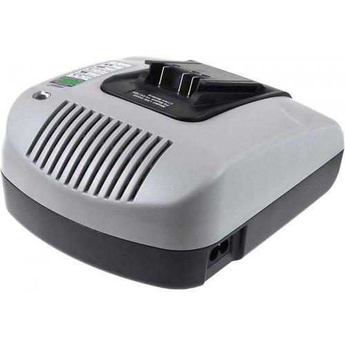 Chargeur de batterie Powery avec port USB pour souffleur de feuilles sans fil Bosch ALB 18, 14,4V-18V [ Chargeurs pour outil électroportatif ]
