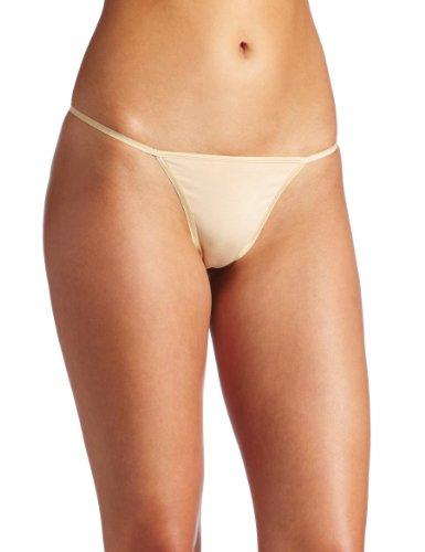 Cosabella Damen Panty (Cosabella Damen Talco String Panty - Beige - Einheitsgröße)