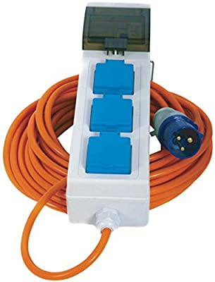 Crusader V762 Mains Supply Unit with 3 Sockets 20 m Cable