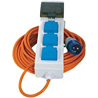 Crusader V762 Mains Supply Unit with 3 Sockets 15 meter Cable