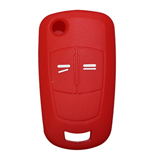 muchkey-silicone-key-case-cover-skin-jacket-fit-for-vauxhall-opel-2-button-flip-remote-key-1pc-red