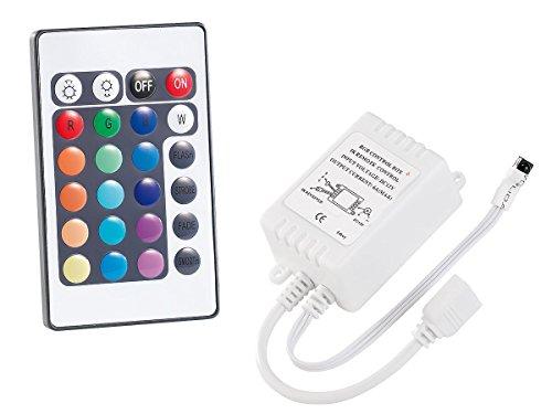 Lunartec LED-Streifen für Innen: Fernbedienung für LED-Streifen der Serie LC, mit Empfänger (LED-Lichtstreifen mit optionalen Fernbedienungen)