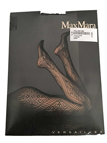 max-mara-femme-collants-brode-noir-mod-versailles-made-in-italy-s-m