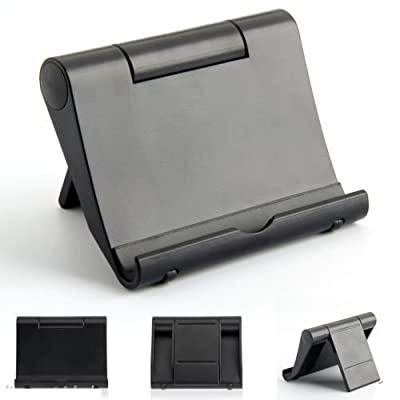 REALMAX® Universal Adjust Portable Tablet Stand Holder for iPad 3/4/Mini Kindle iPhone 5 5C 5S 6 6 Plus Samsung Nokia HTC LG