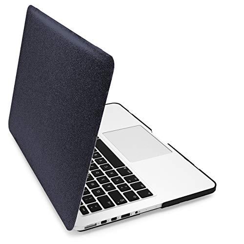 MyGadget Hülle Hard Case [Glitzer] - für Apple MacBook Pro Retina 13