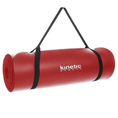 Kinetic Sports YM01 Yogamatte 190 x 60 cm , 15mm dick, in verschiedenen Farben