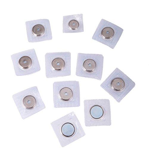 Gazechimp 10 Paar Unsichtbare Magnetknopf Magnetische Snap Geldbörse Befestigung 19mm 15mm zum...