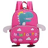 Sac Porté Dos  Sac a Dos Filles Sac a Dos Scolaire Sac Ecole Garcon Primaire Mignon 3D Dinosaures Schoolbags