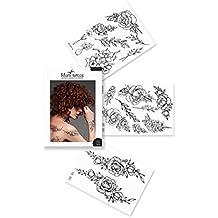 Amazon Fr Tatouage Ephemere Noir