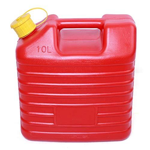 Yunhigh Tanica Benzina 5L 10L addensata Anti statica ad Alta Resistenza in plastica Auto barile di Olio combustibile può Contenitore di stoccaggio tanica Secchio